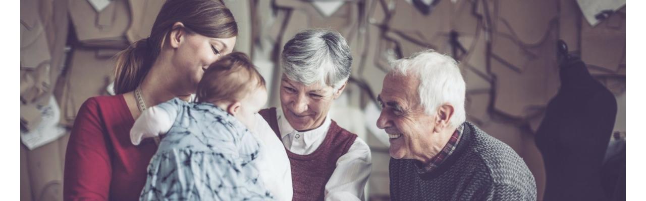 Установление близкого родства с бабушкой/дедушкой ребенка